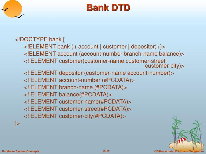 <!DOCTYPE bank [