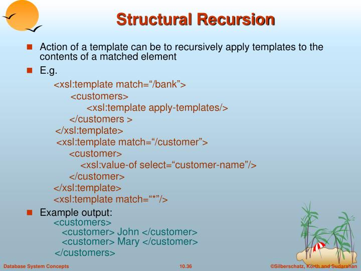 Structural Recursion
