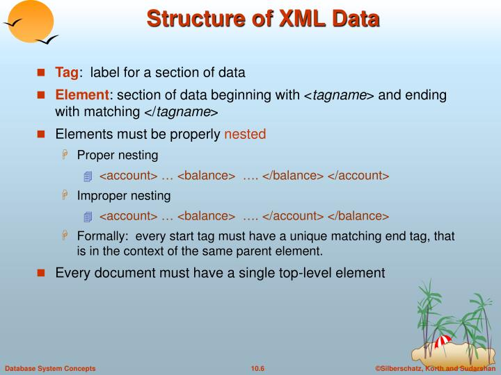 Structure of XML Data