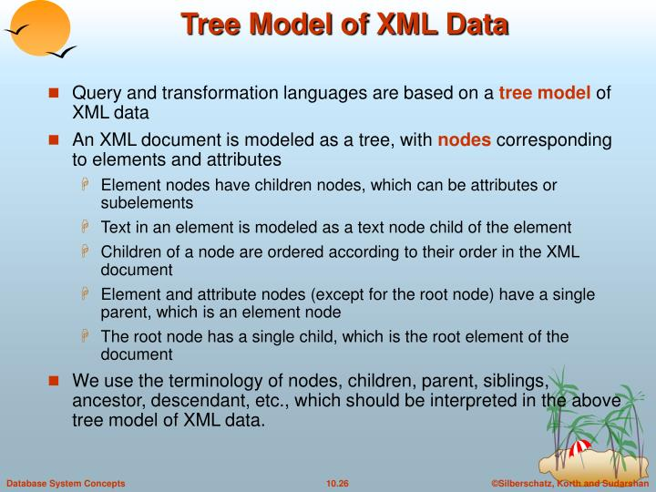 Tree Model of XML Data