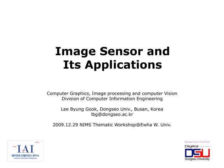 Image Sensor and