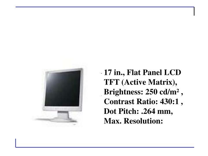 Acer AL1715EWM (Beige) 17 in. Flat Panel LCD Monitor