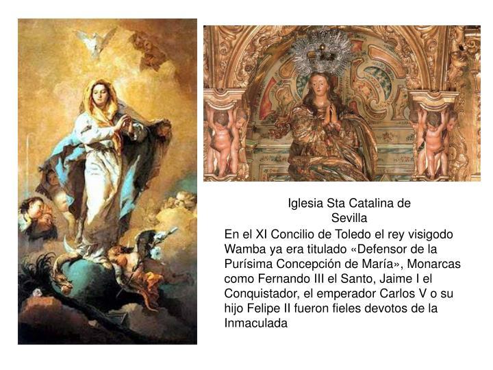 Iglesia Sta Catalina de Sevilla
