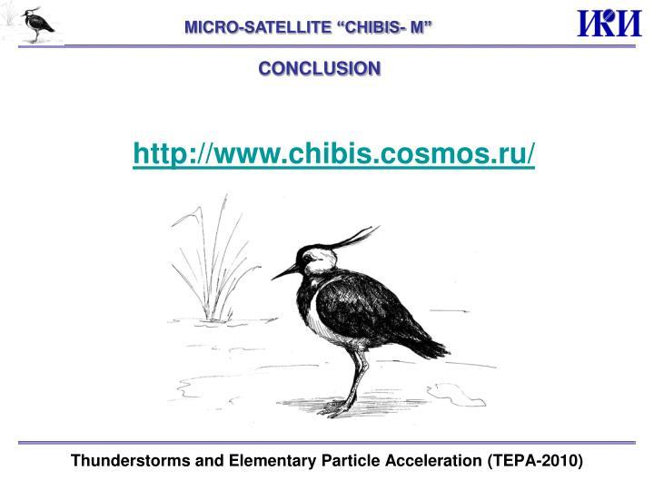 """MICRO-SATELLITE """"CHIBIS- M"""""""
