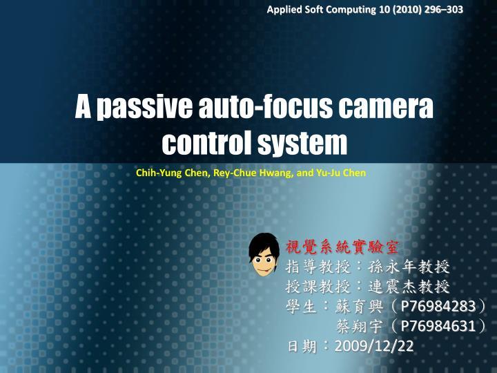 Applied Soft Computing 10 (2010) 296–303