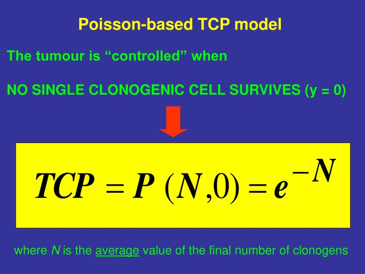 Poisson-based TCP model