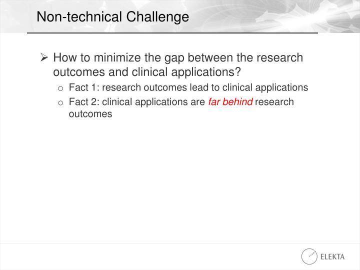 Non-technical Challenge