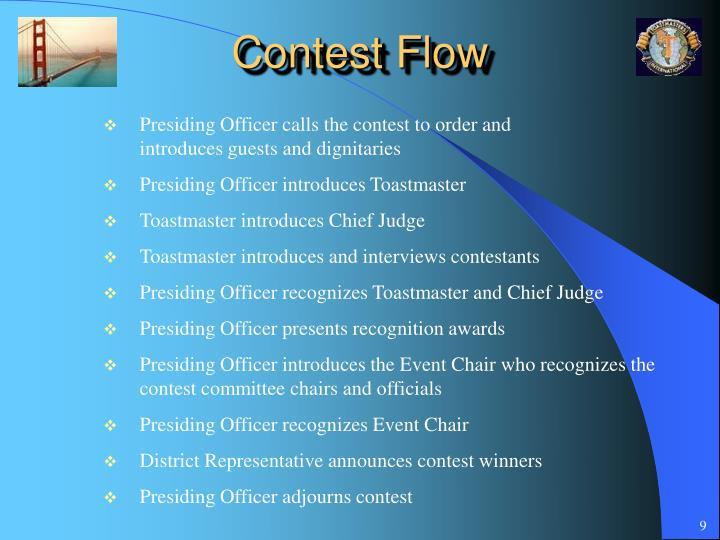 Contest Flow
