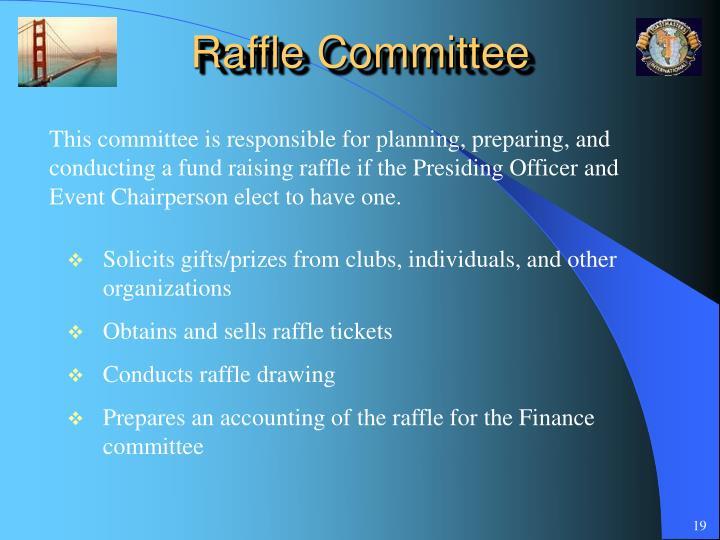 Raffle Committee