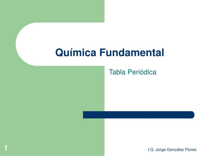 qu mica fundamental