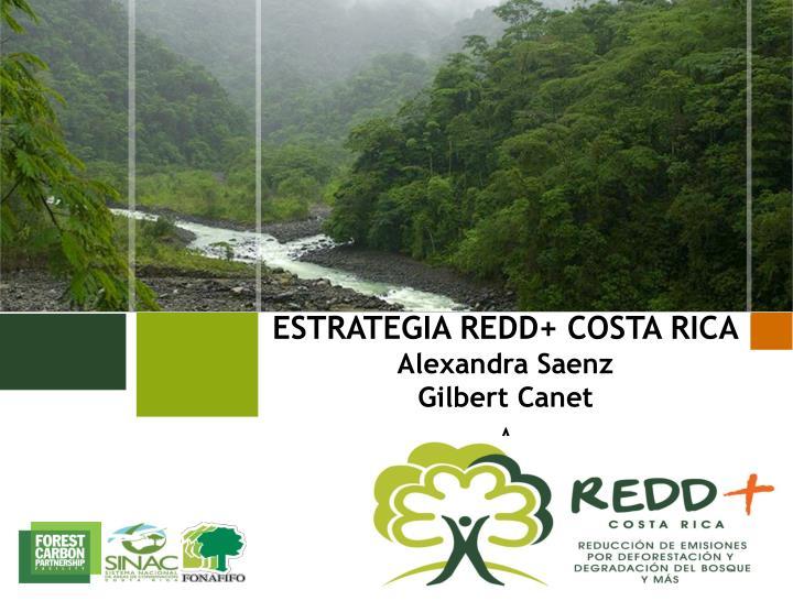 ESTRATEGIA REDD+ COSTA RICA