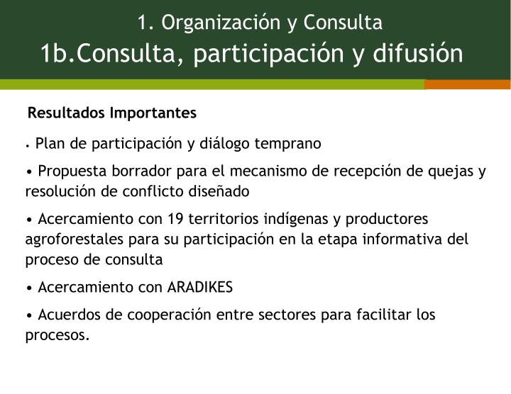 Plan de participación y diálogo temprano