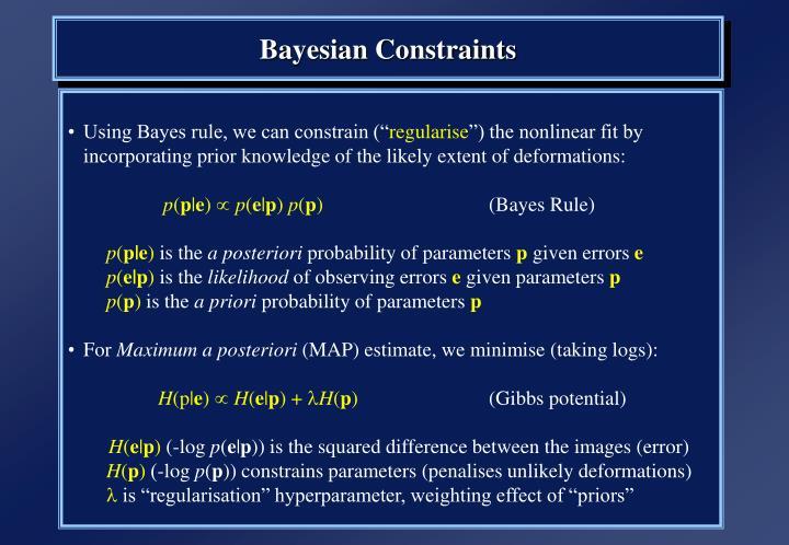 Bayesian Constraints