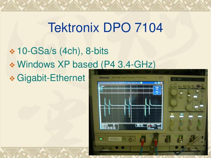 Tektronix DPO 7104