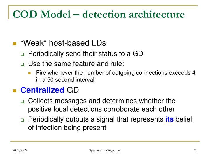 COD Model