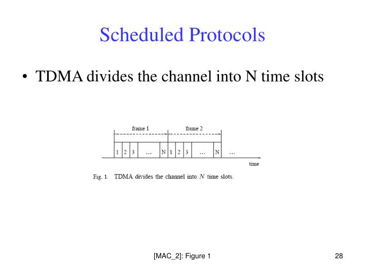 Scheduled Protocols