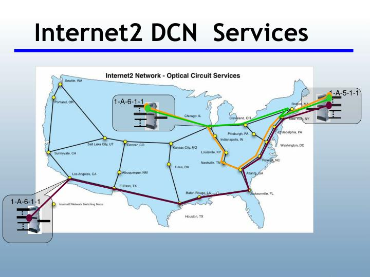 Internet2 DCN  Services