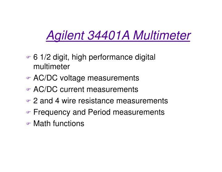 6 1/2 digit, high performance digital