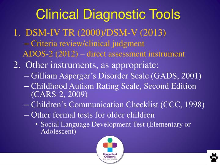 Clinical Diagnostic Tools