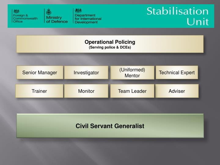 Operational Policing