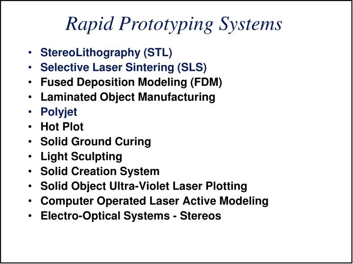 StereoLithography (STL)