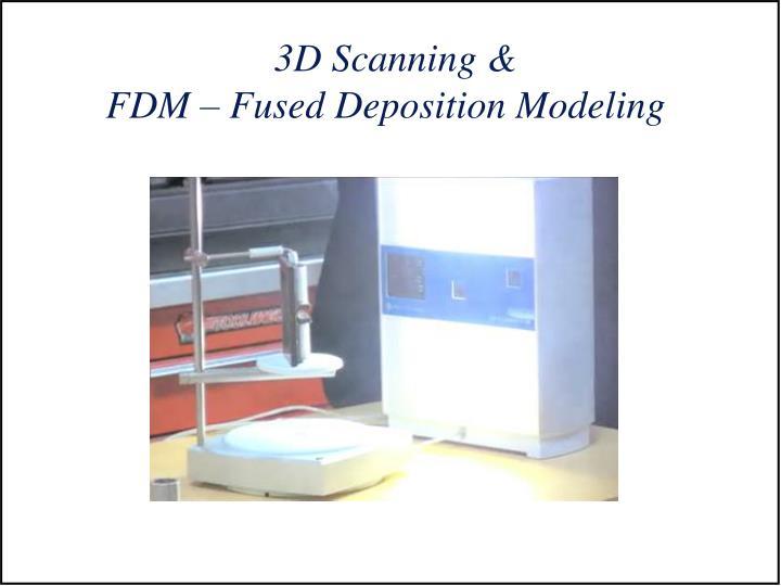 3D Scanning &