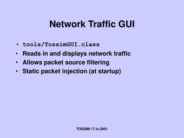 Network Traffic GUI