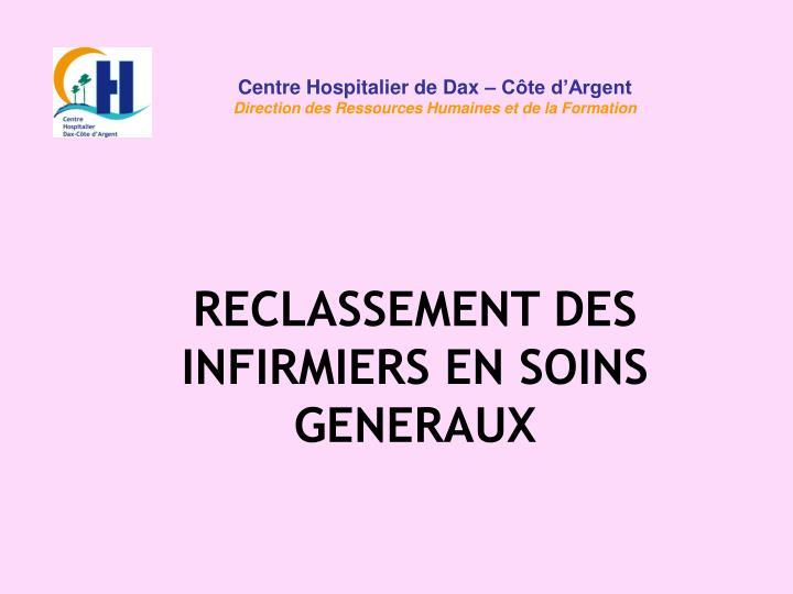 Centre Hospitalier de Dax – Côte d'Argent