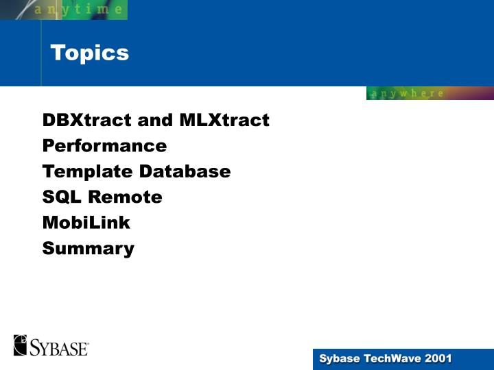 DBXtract and MLXtract