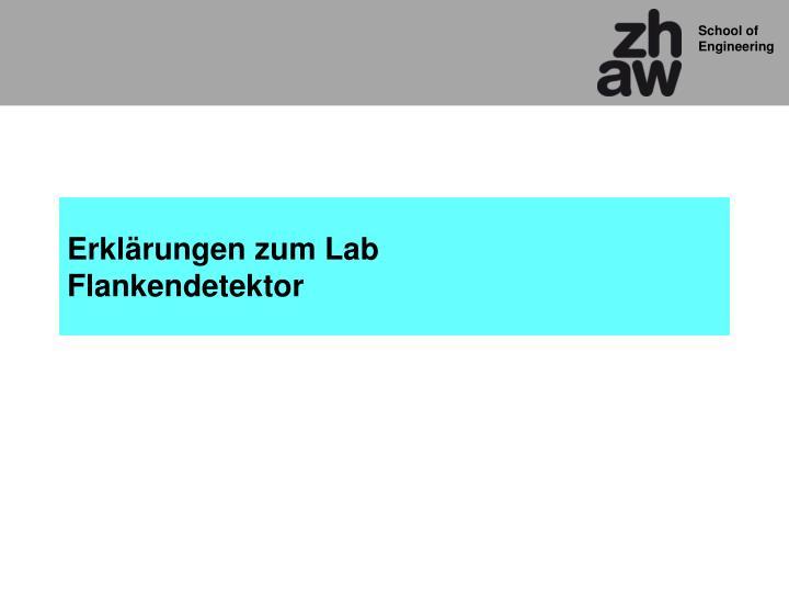 Erklärungen zum Lab