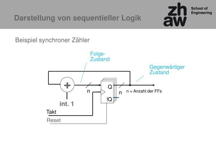 Darstellung von sequentieller Logik