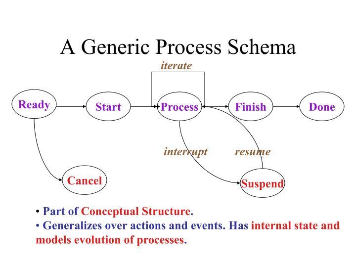 A Generic Process Schema