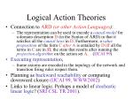 logical action theories