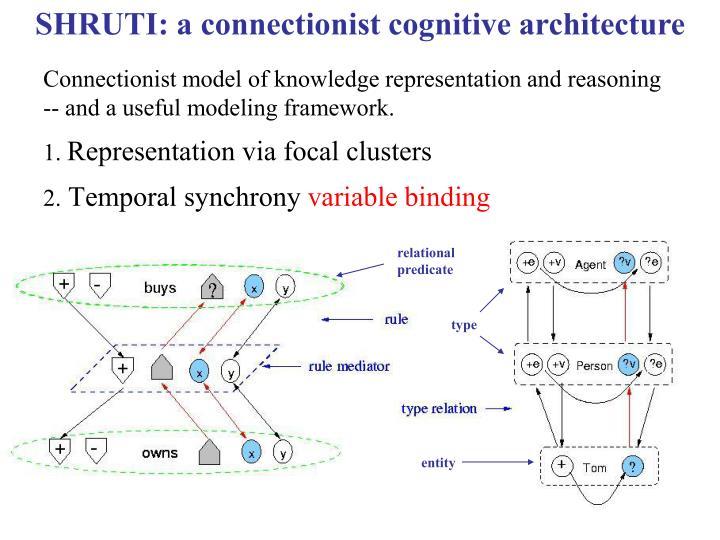 SHRUTI: a connectionist cognitive architecture