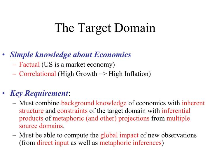 The Target Domain