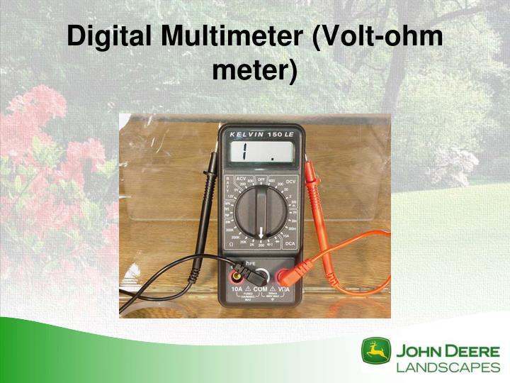 Digital Multimeter (Volt-ohm meter)