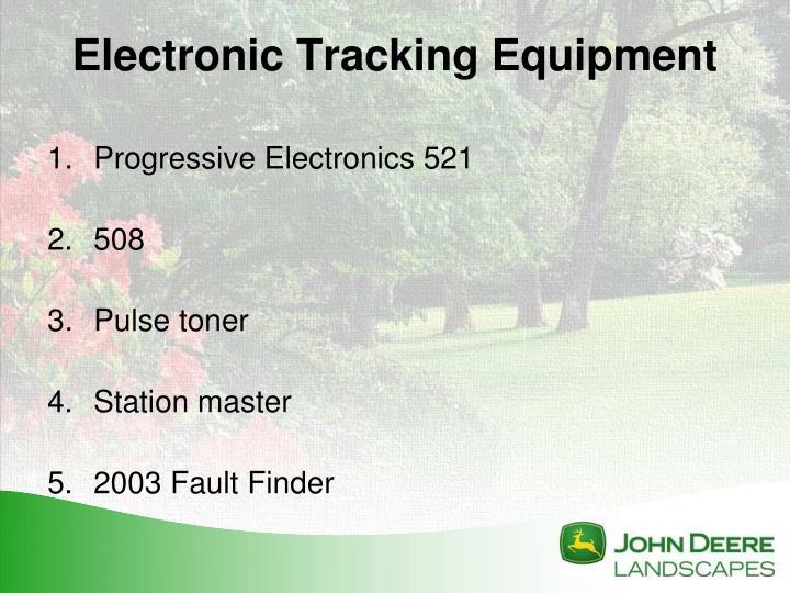 Progressive Electronics 521