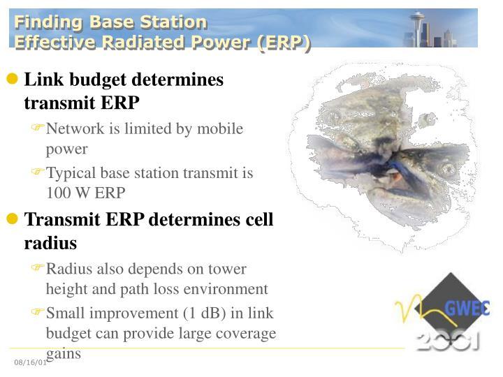 Finding Base Station