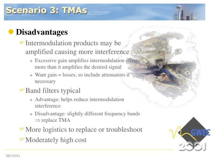Scenario 3: TMAs