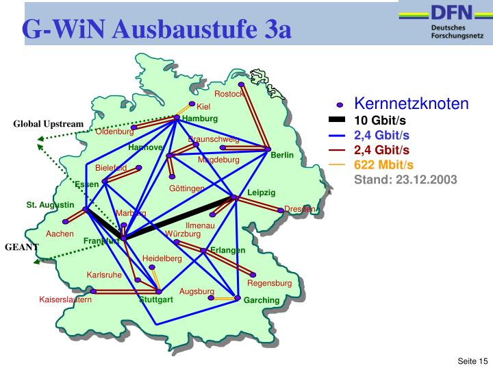 G-WiN Ausbaustufe 3a