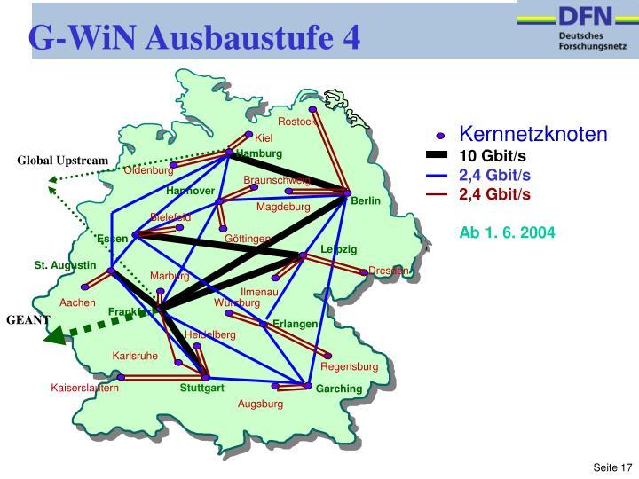 G-WiN Ausbaustufe 4