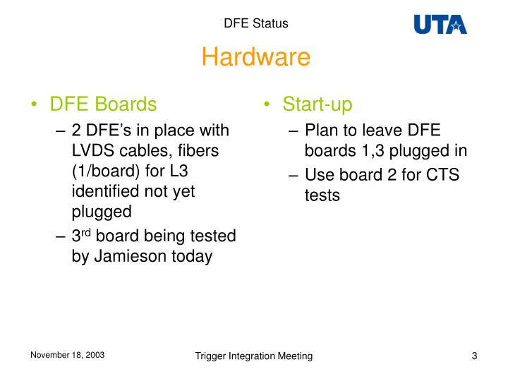 DFE Boards