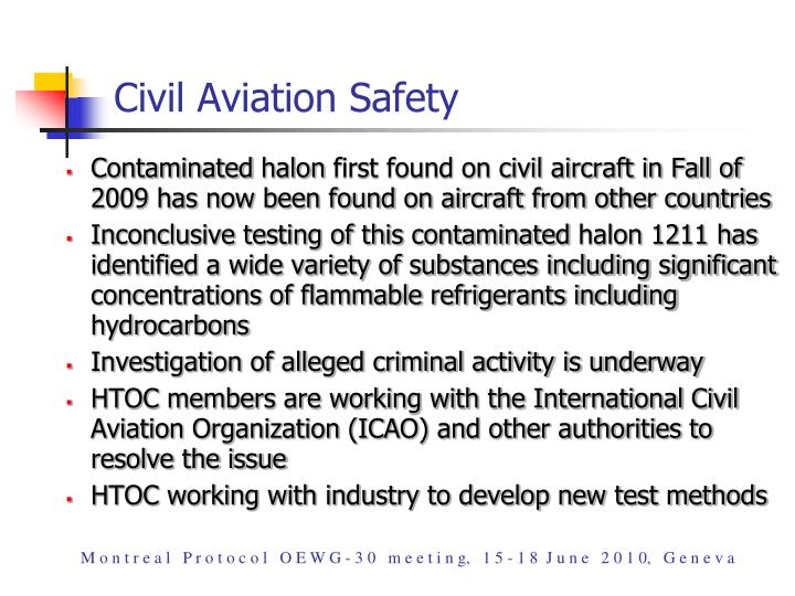 Civil Aviation Safety
