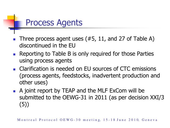 Process Agents