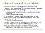 enhanced oversight of electric reliability1