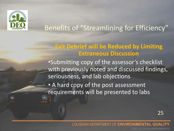 "Benefits of ""Streamlining for Efficiency"""