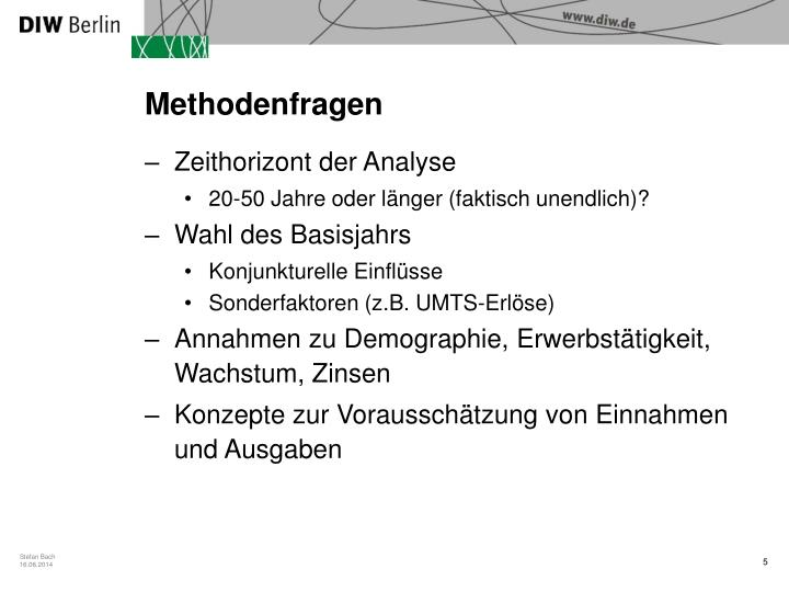 Methodenfragen