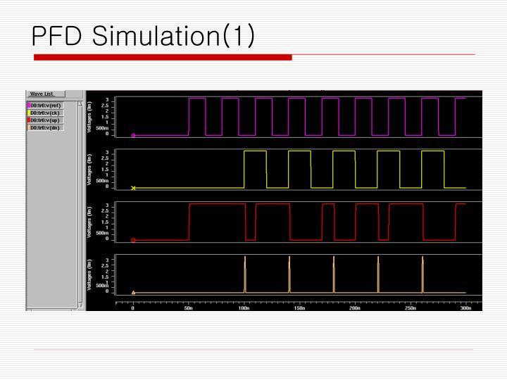 PFD Simulation(1)