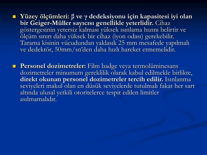 Yzey lmleri: