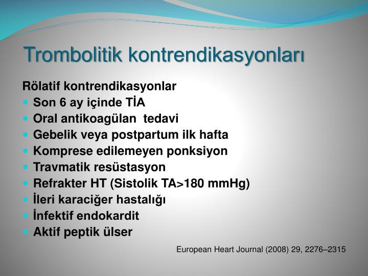 Trombolitik